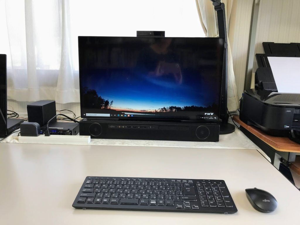 新しいパソコンの画像